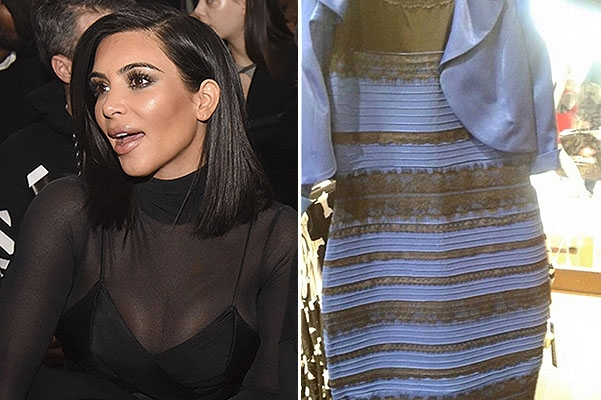Черно синее платье