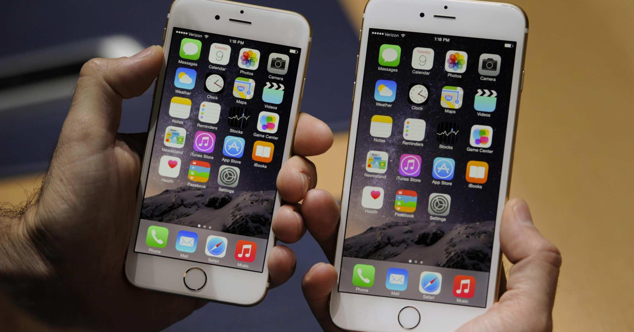 Iphone 6s plus в сравнении с 6s