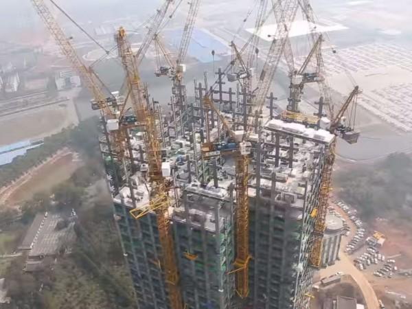 Китайцы возвели 57-этажный небоскрёб всего за 19 дней