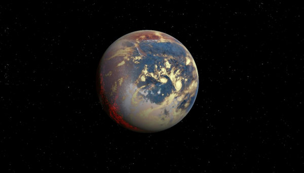 Астрономы подтвердили существование звезды с планетной системой из трёх суперземель