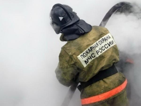 Пожар на судостроительном заводе Калининградской области потушен
