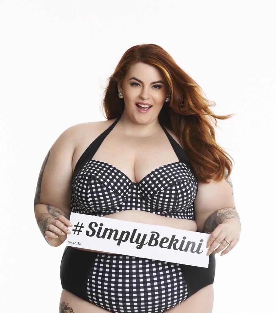 Модель Тесс Холидей весом в 155 кг впервые снялась в рекламе бикини