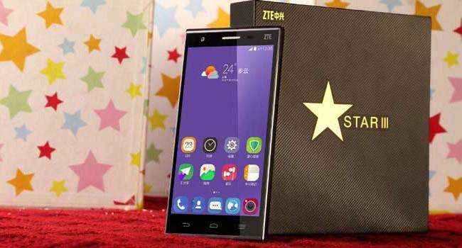 Смартфон ZTE Star 3 получит экран 4К