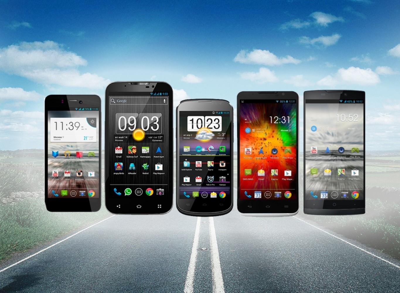 Количество проданных в России смартфонов упало в первом полугодии
