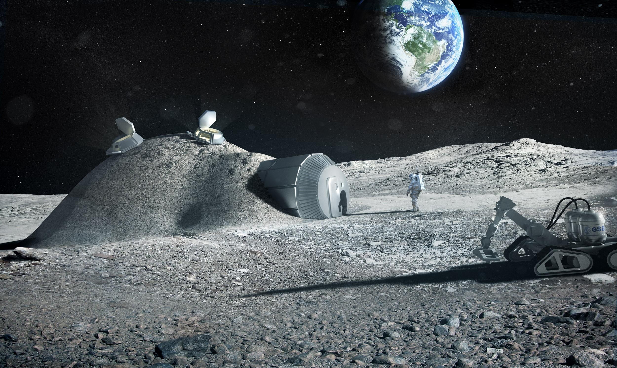 NASA планирует добывать водород во льдах Луны