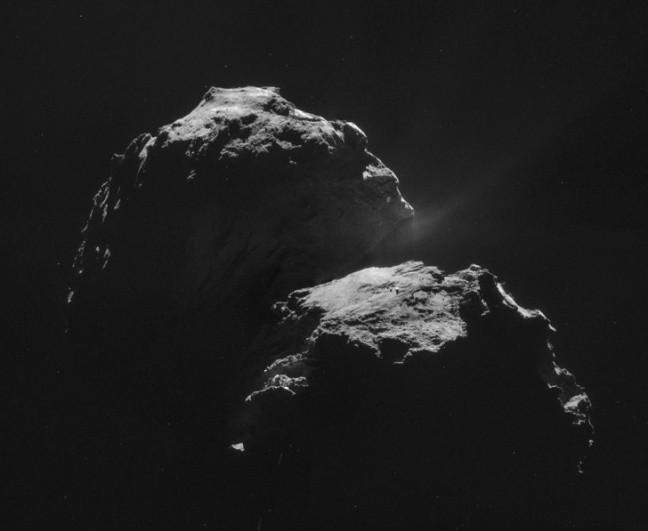 На комете Чурюмова Герасименко обнаружены условия для зарождения жизни