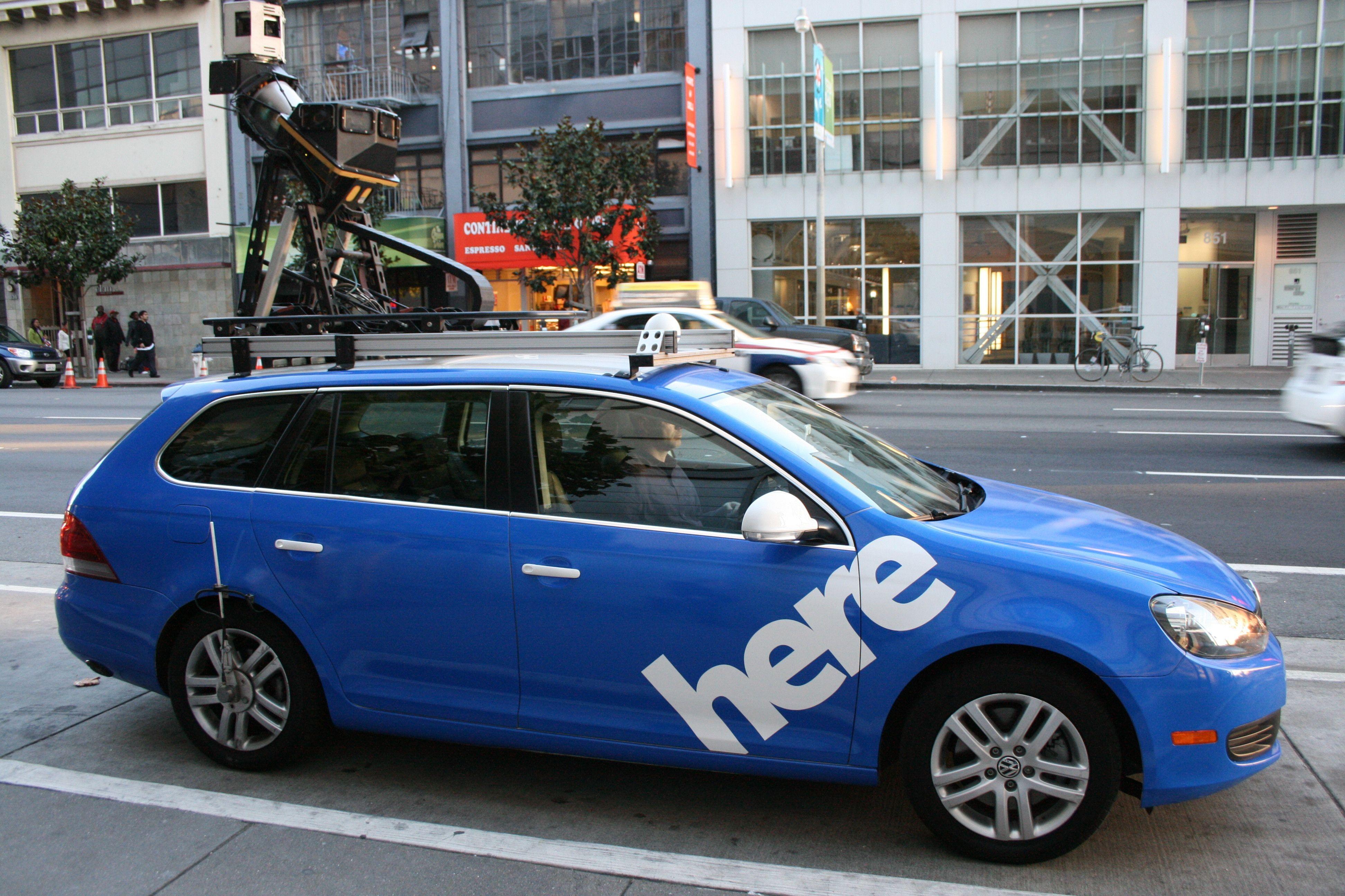 BMW Audi и Daimler купили у Nokia картографический сервис Here