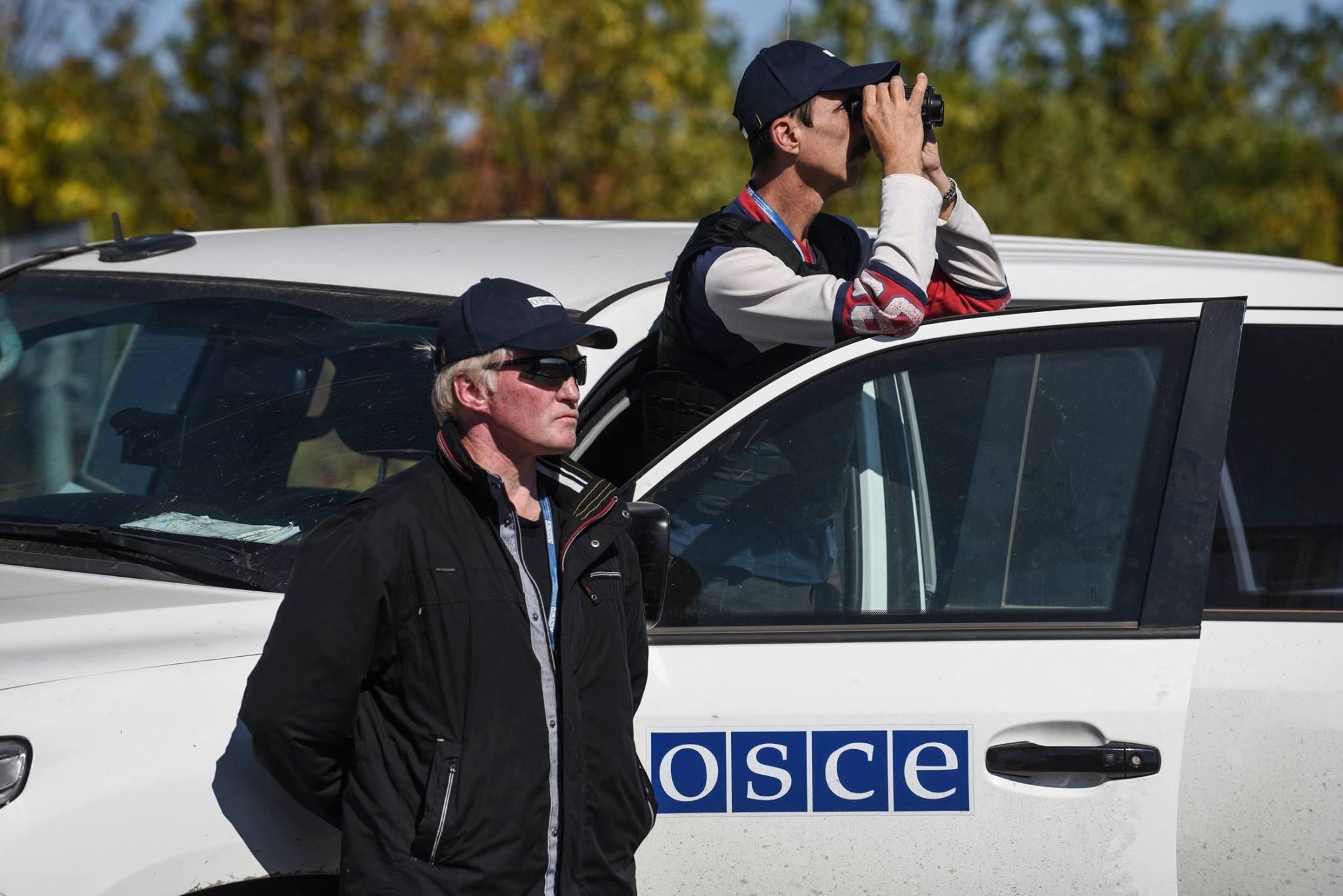 Боевики предоставили ОБСЕ сфальсифицированные доказательства обстрелов с украинской стороны