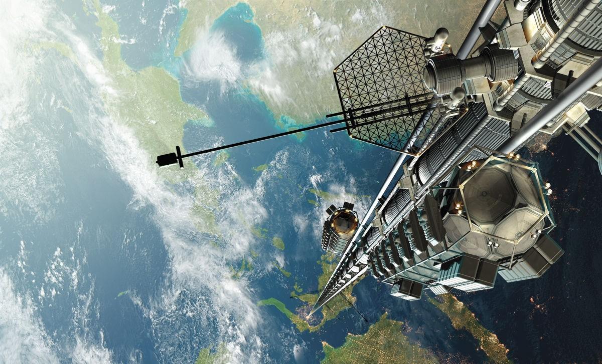 Канадские ученые планируют сконструировать лифт в космос