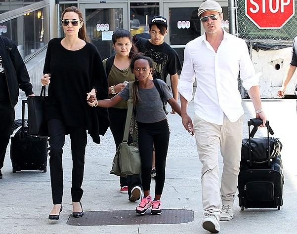 Приёмна дочь Джоли и Питта хочет вернуться назад в Эфиопию