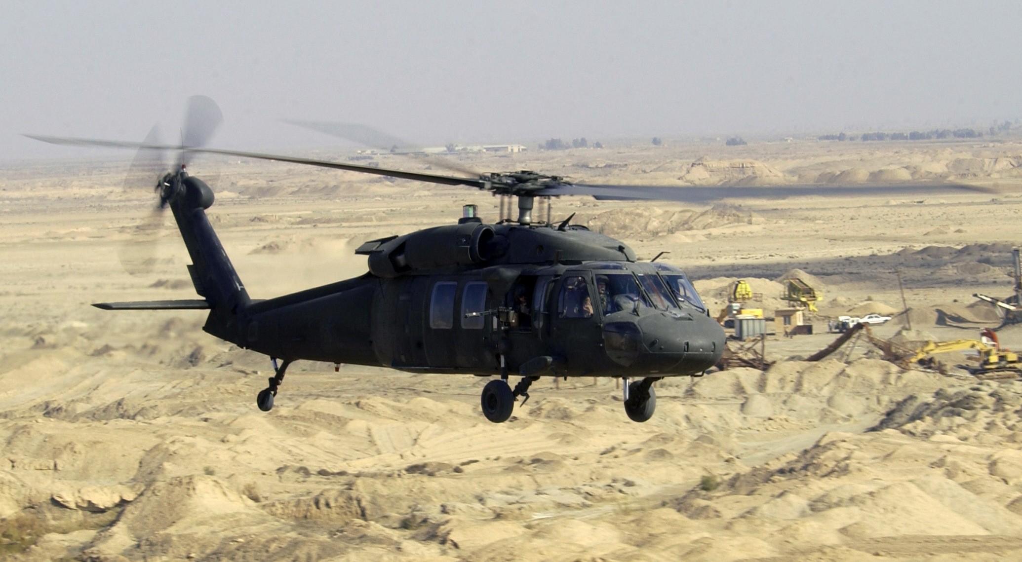 ВЯпонии разбился американский военный вертолет