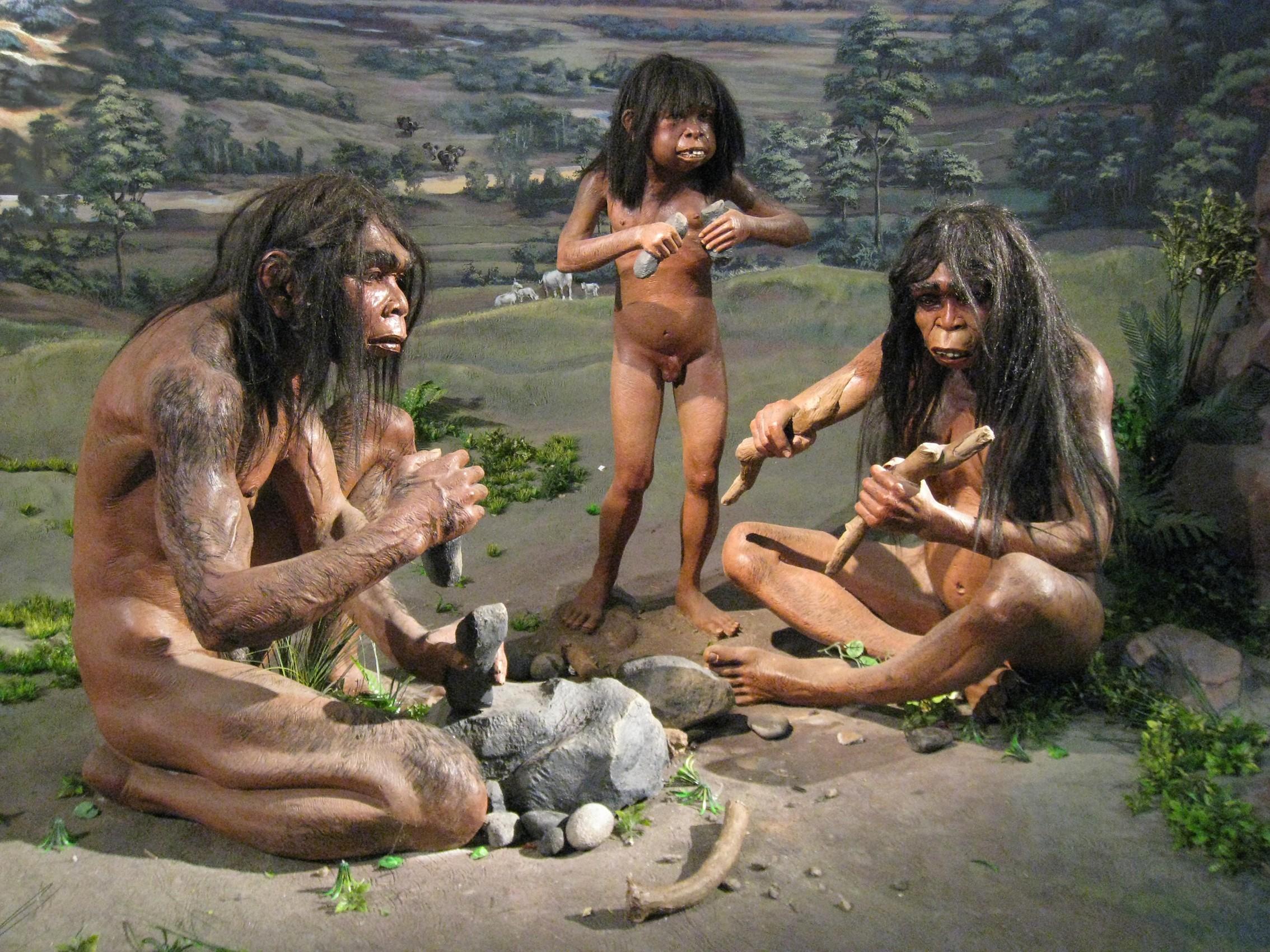 секс древних людей порно