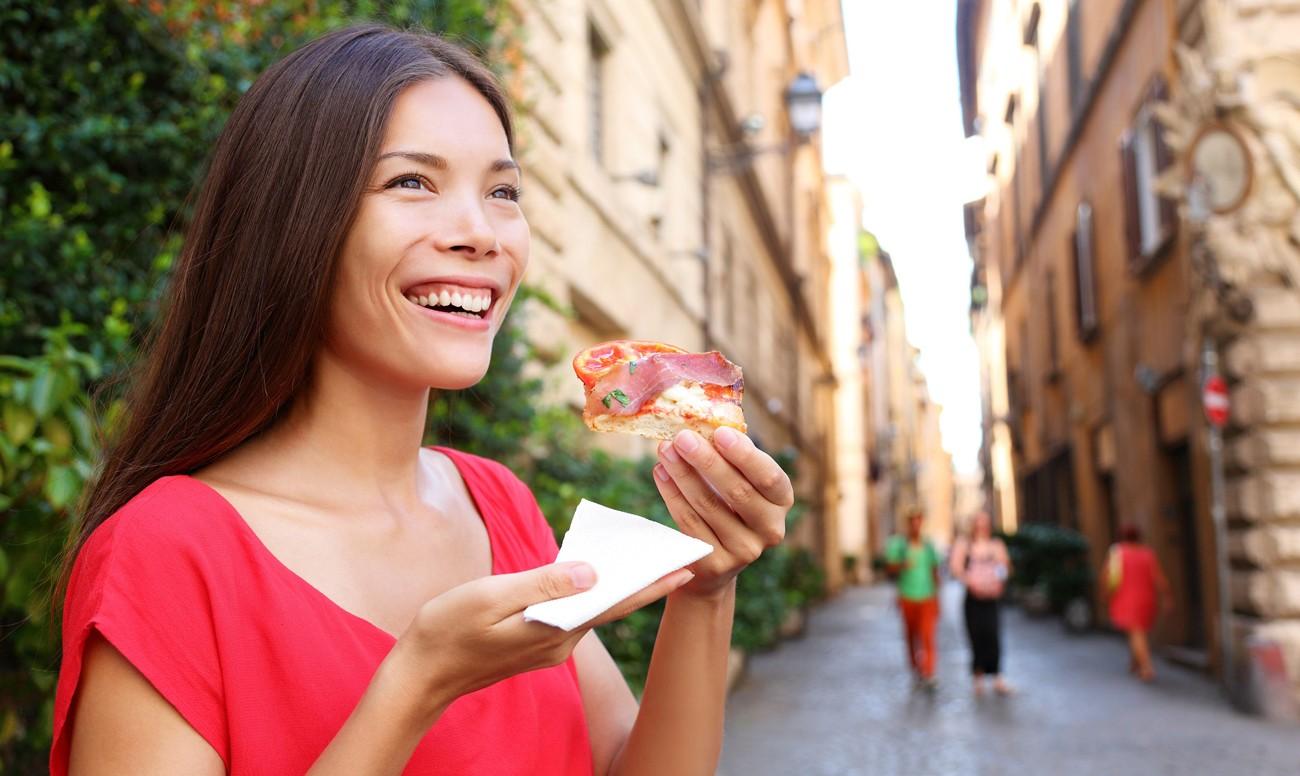 Еда на ходу способствует увеличению веса