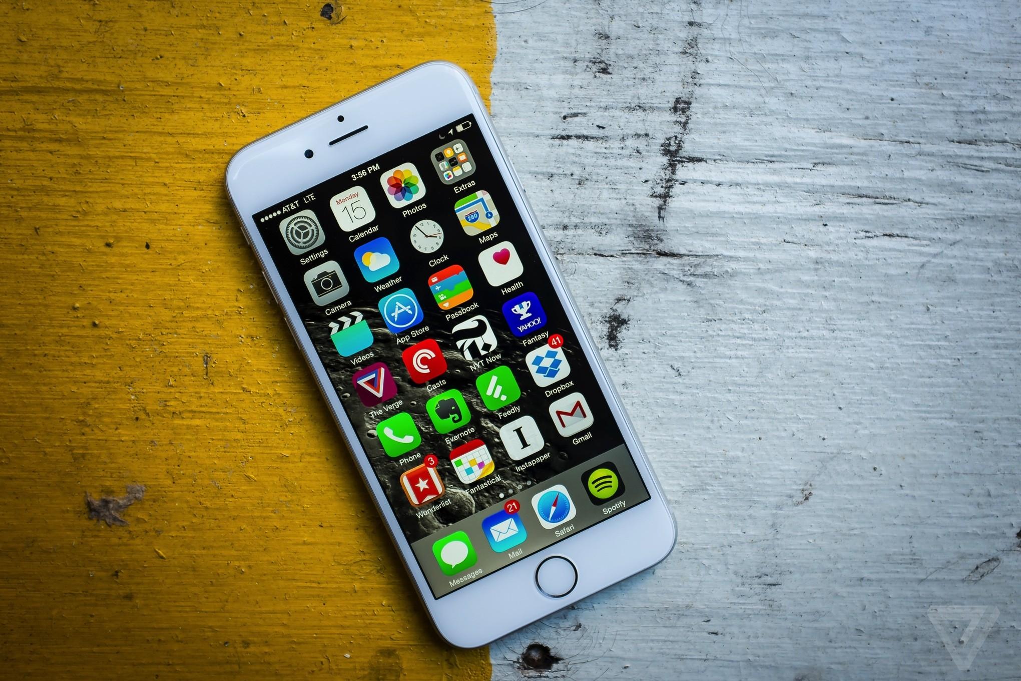 Apple оснастила iPhone 6s 12-мегапиксельной камерой