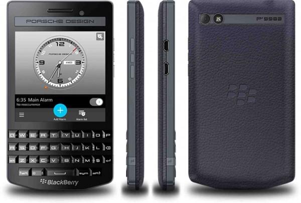В Индии появился BlackBerry Porsche Design P'9983 Graphite