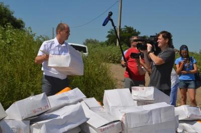 В Белгородской области уничтожили 10 тонн санкционного сыра