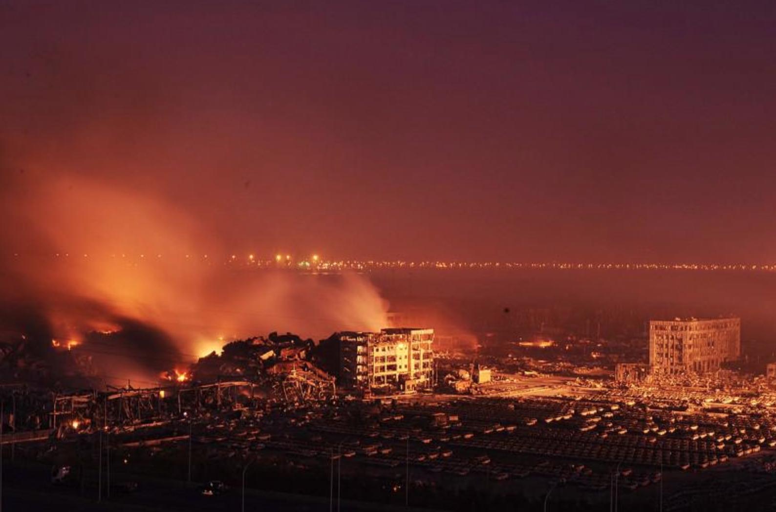 В КНР появится монумент жертвам взрывов в Тяньцзине