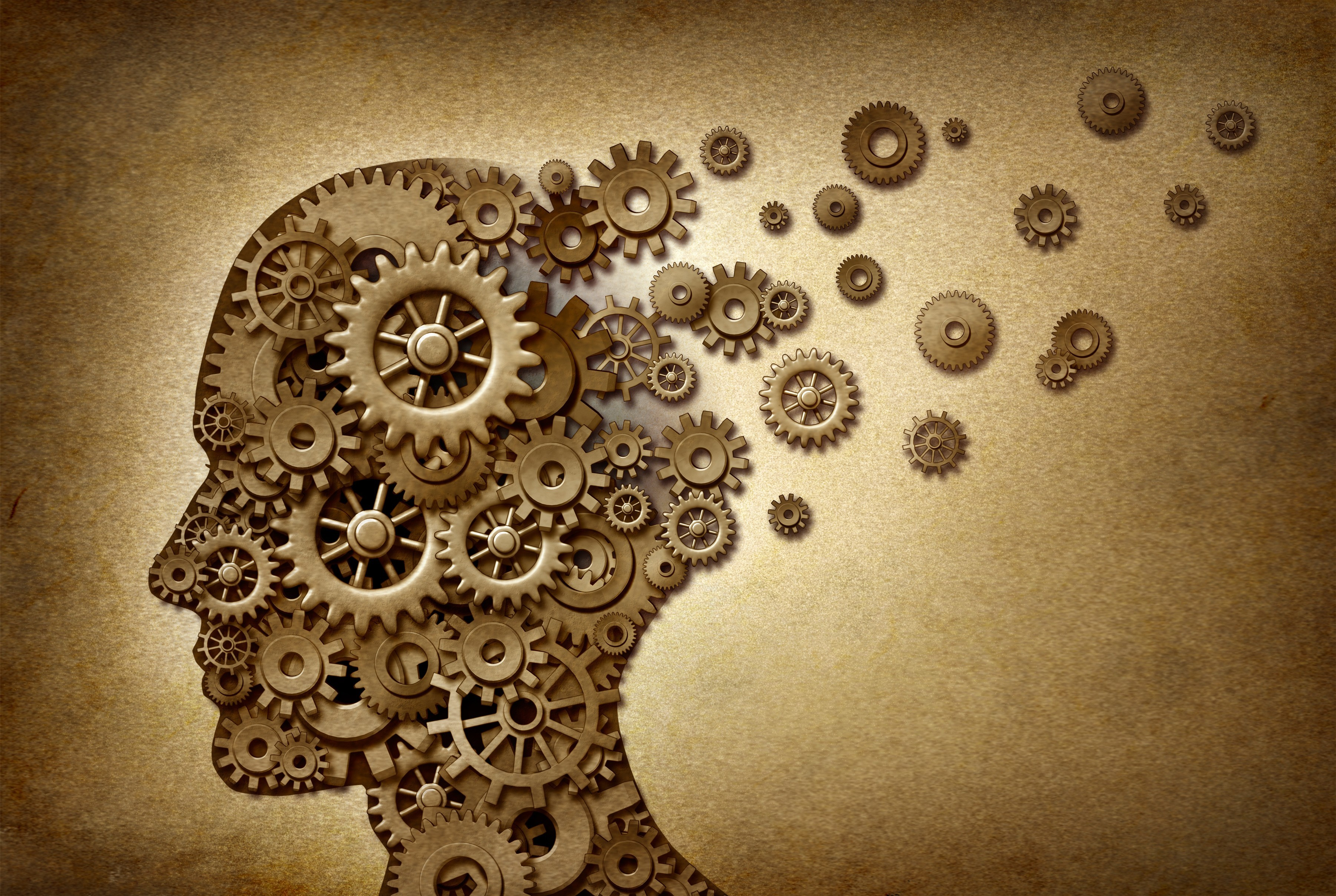 A mind with gears