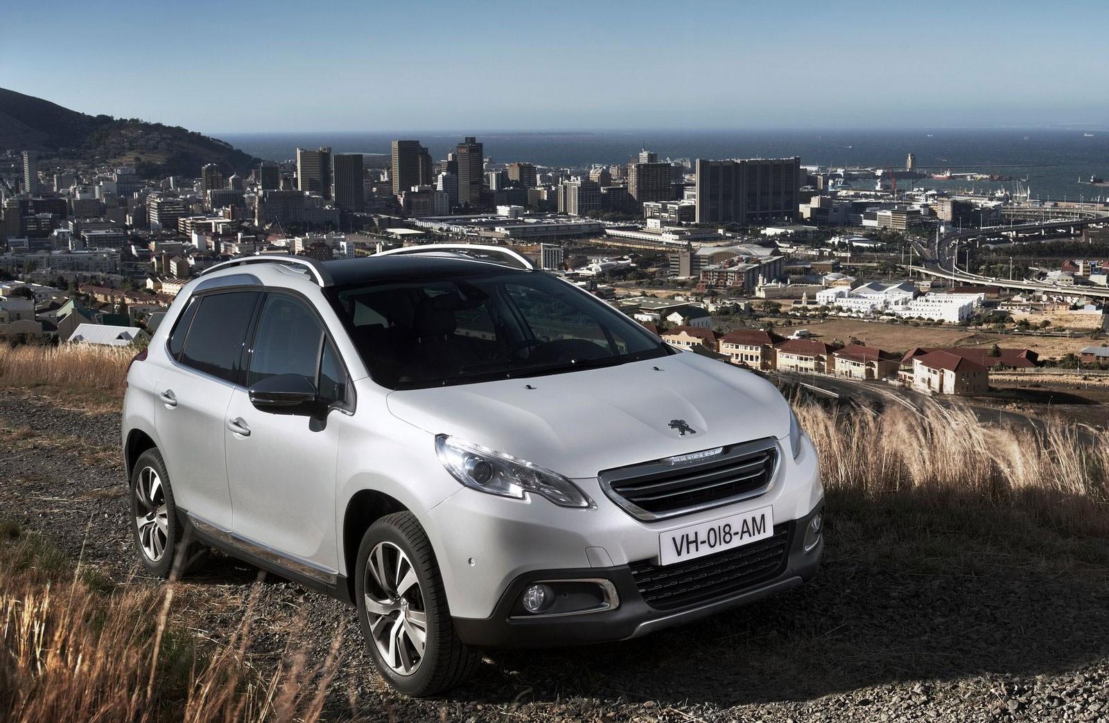 Peugeot планирует зарядить вседорожник 2008