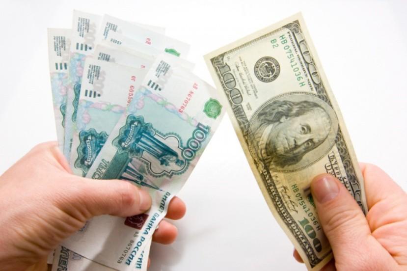 Курс рубля вырос на 31 копейку к доллару и на 34 копейки к евро