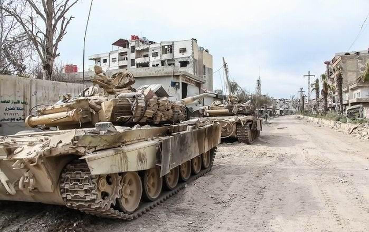 Российские танки в сирии 5 фотография