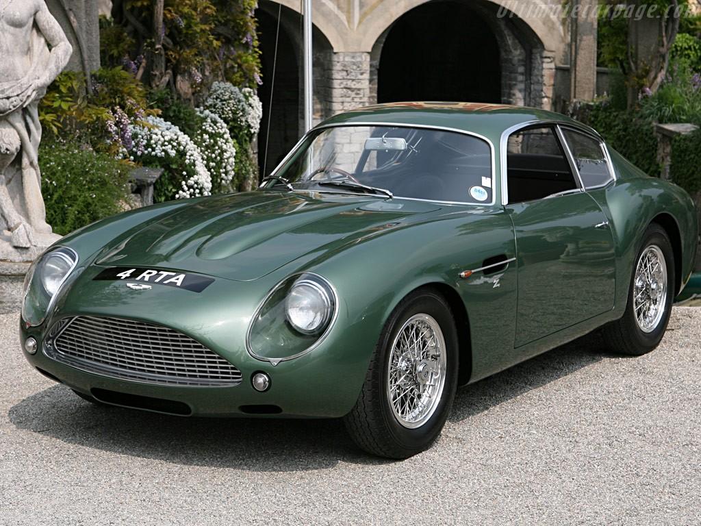 Редчайшее раритетное купе Aston Martin DB4 GT Zagato оценили в $16 млн