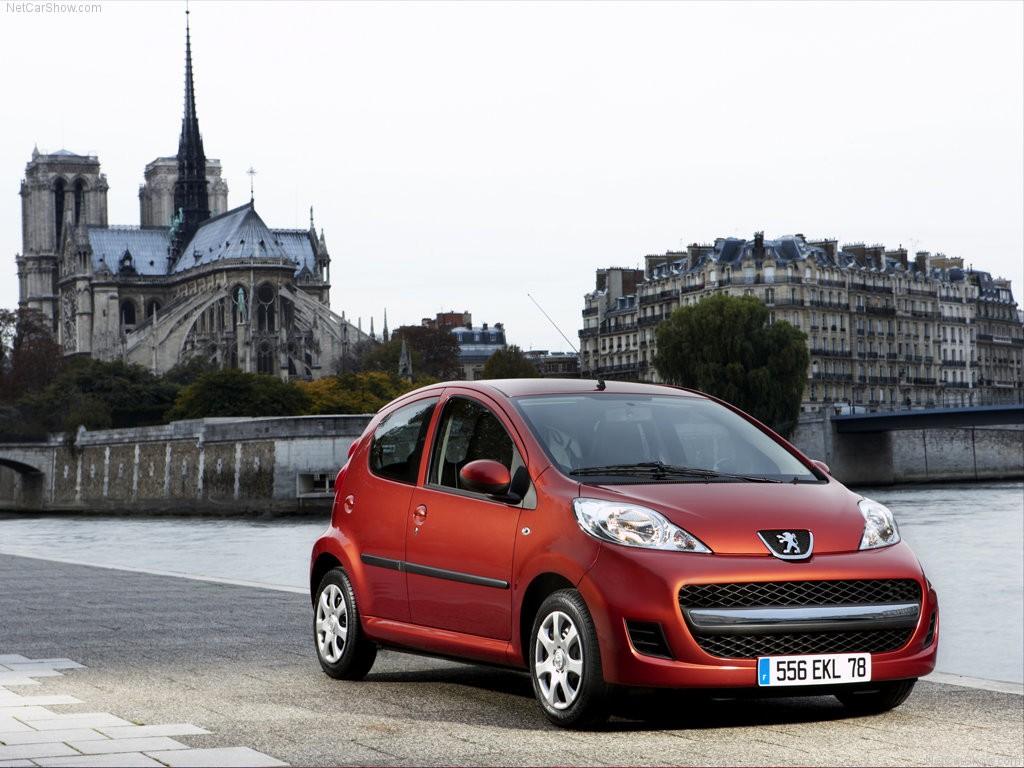 Хэтчбек Peugeot 107 окончательно покинул российский рынок