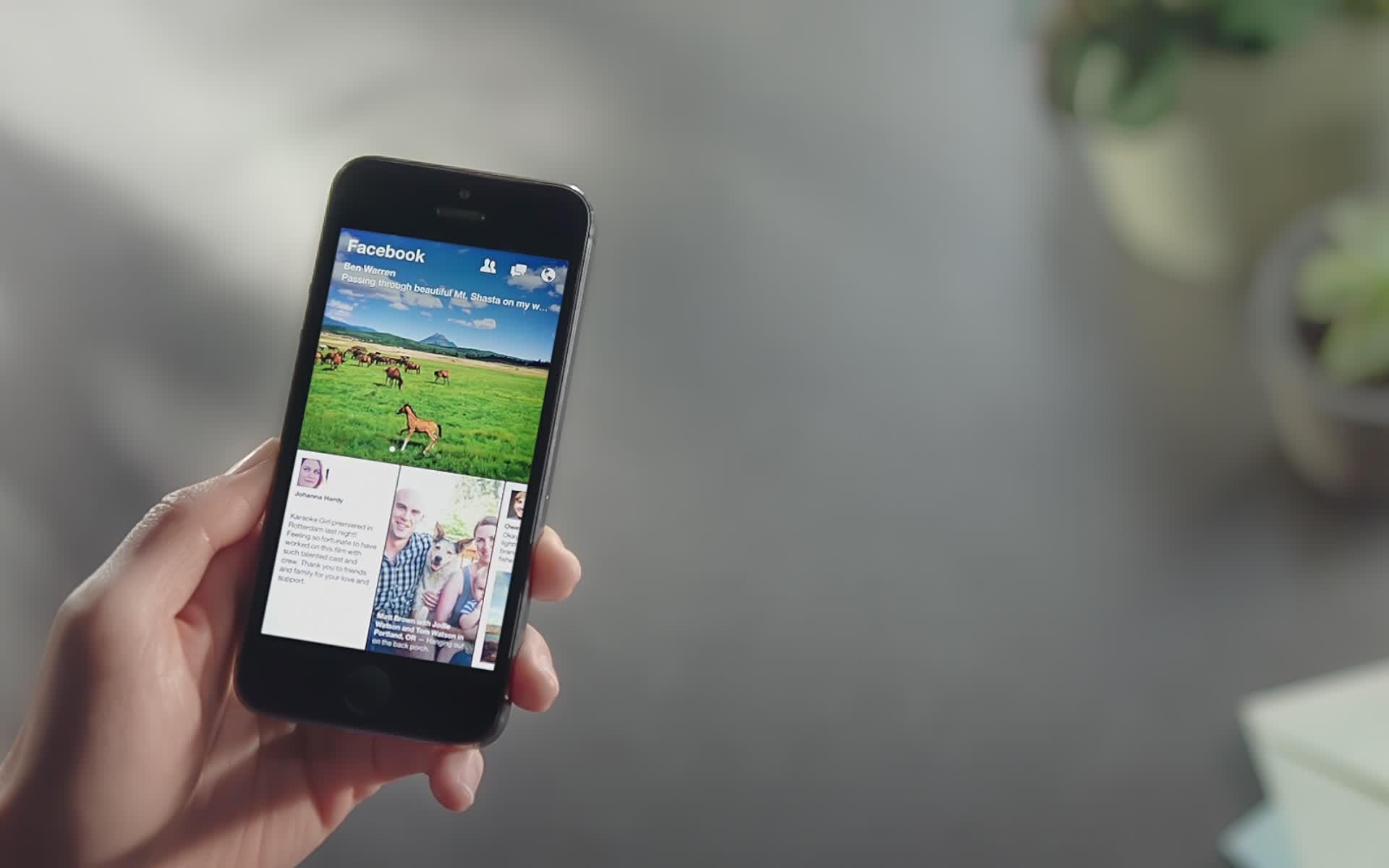 Facebook исправил сбои в разряжающем iPhone приложении