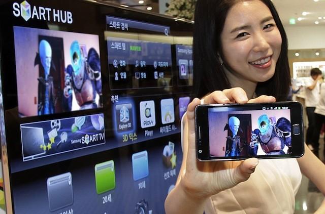 Samsung представил в Google Play обновленное приложение Smart View