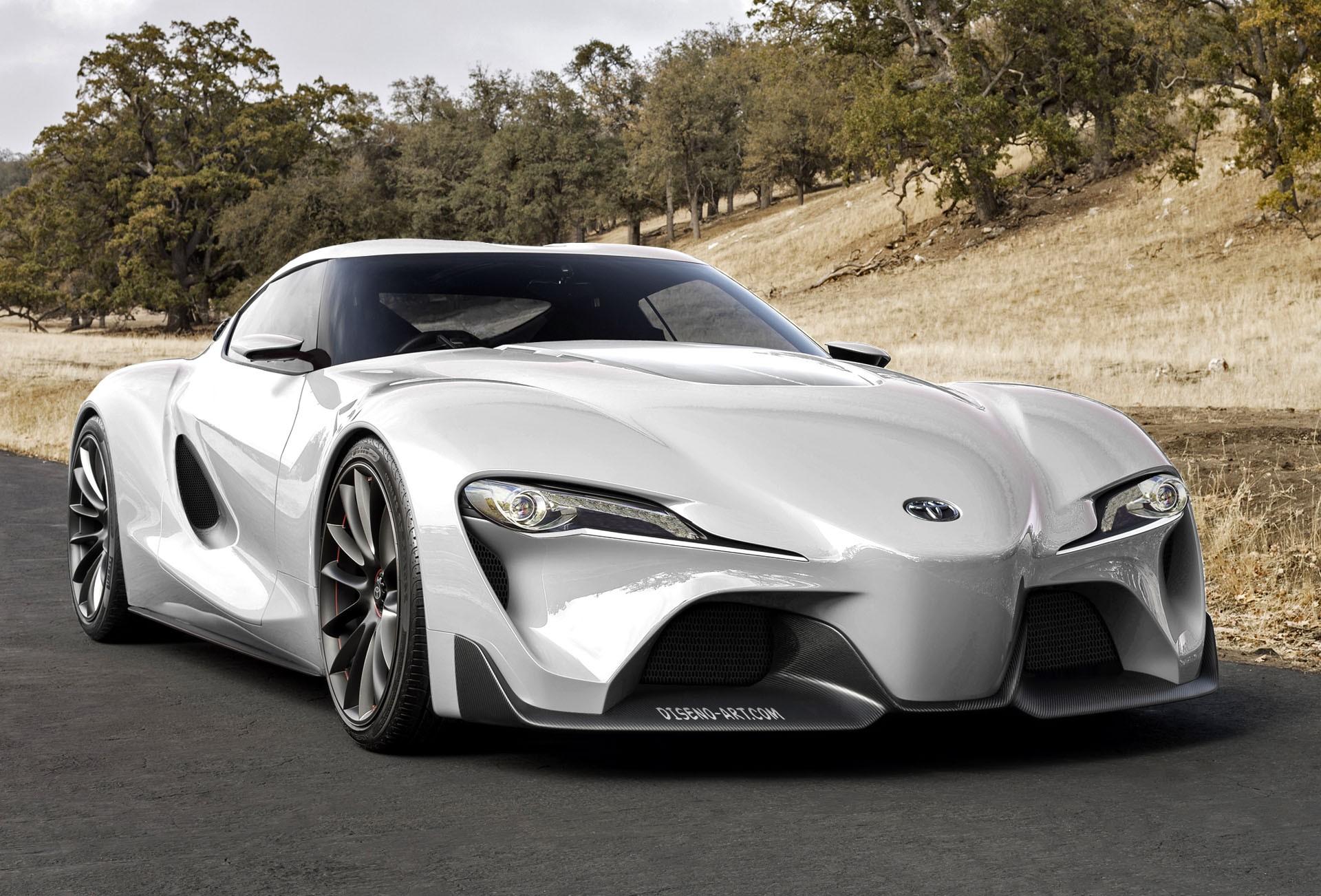 Концептуальное купе Тоёта Supra официально дебютирует втечении следующего  ...