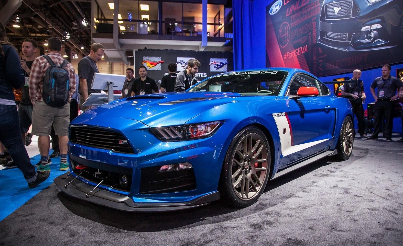 Roush представил тюнингованный Ford Mustang с 850 л.