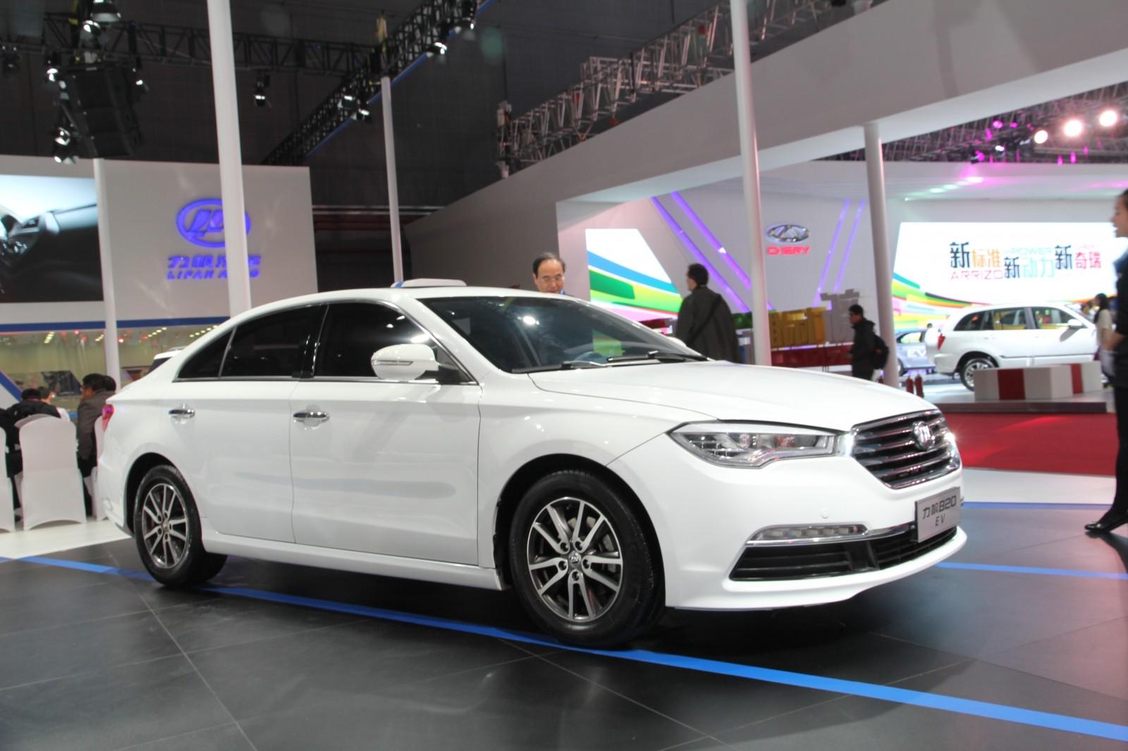 Новый электромобиль Лифан появится нарынке кконцу 2015 года