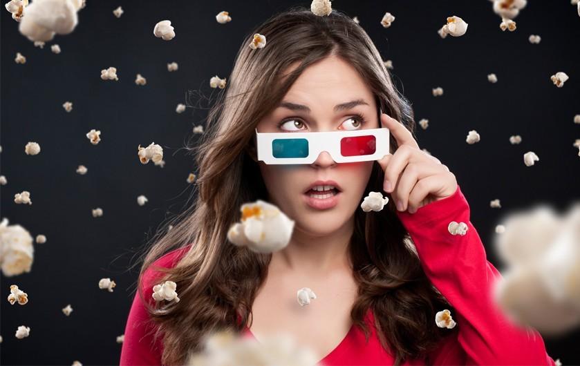 Ученые Просмотр фильмов в 3D активирует работу мозга