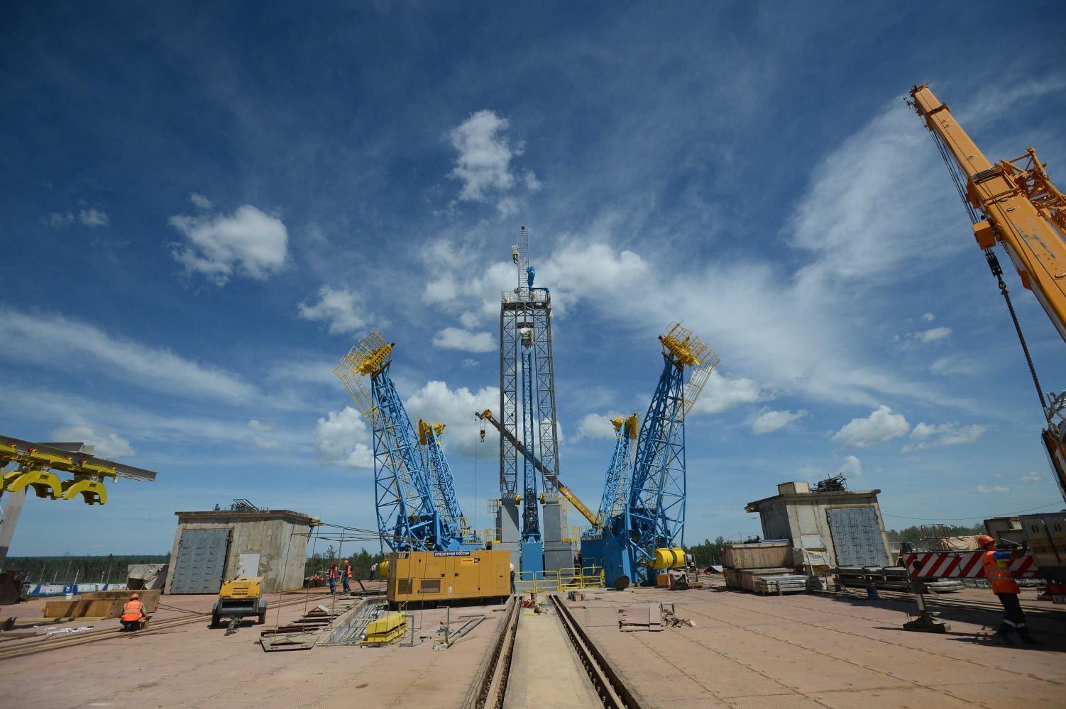 'Роскосмос: Суммарная стоимость космодрома'Восточный составляет 180 млрд рублей