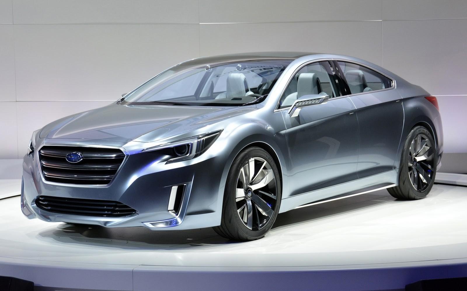 Subaru представит в Лос Анджелесе новый седан Impreza