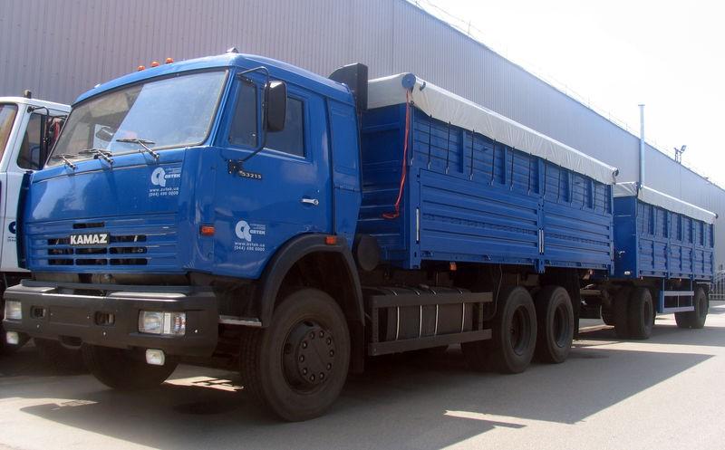 В Октябре объём продаж грузовиков в России сократился на 32,5