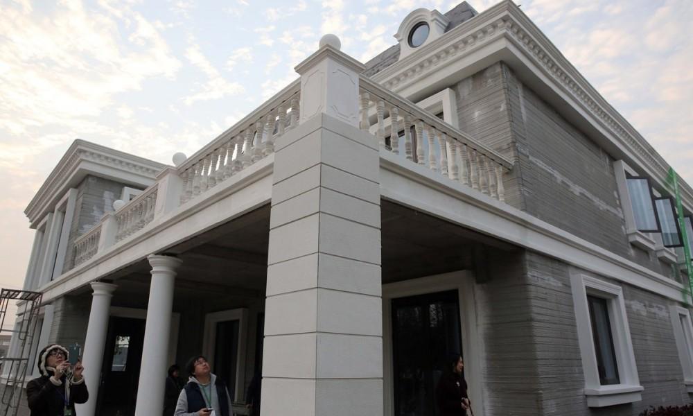 Китай начнет продавать в России отпечатанные на 3D-принтере жилые дома