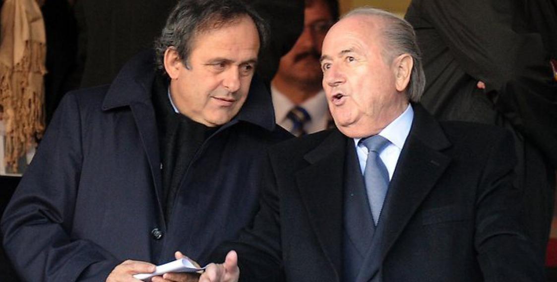 Блаттер иПлатини пока не возвратятся  вфутбол— ФИФА
