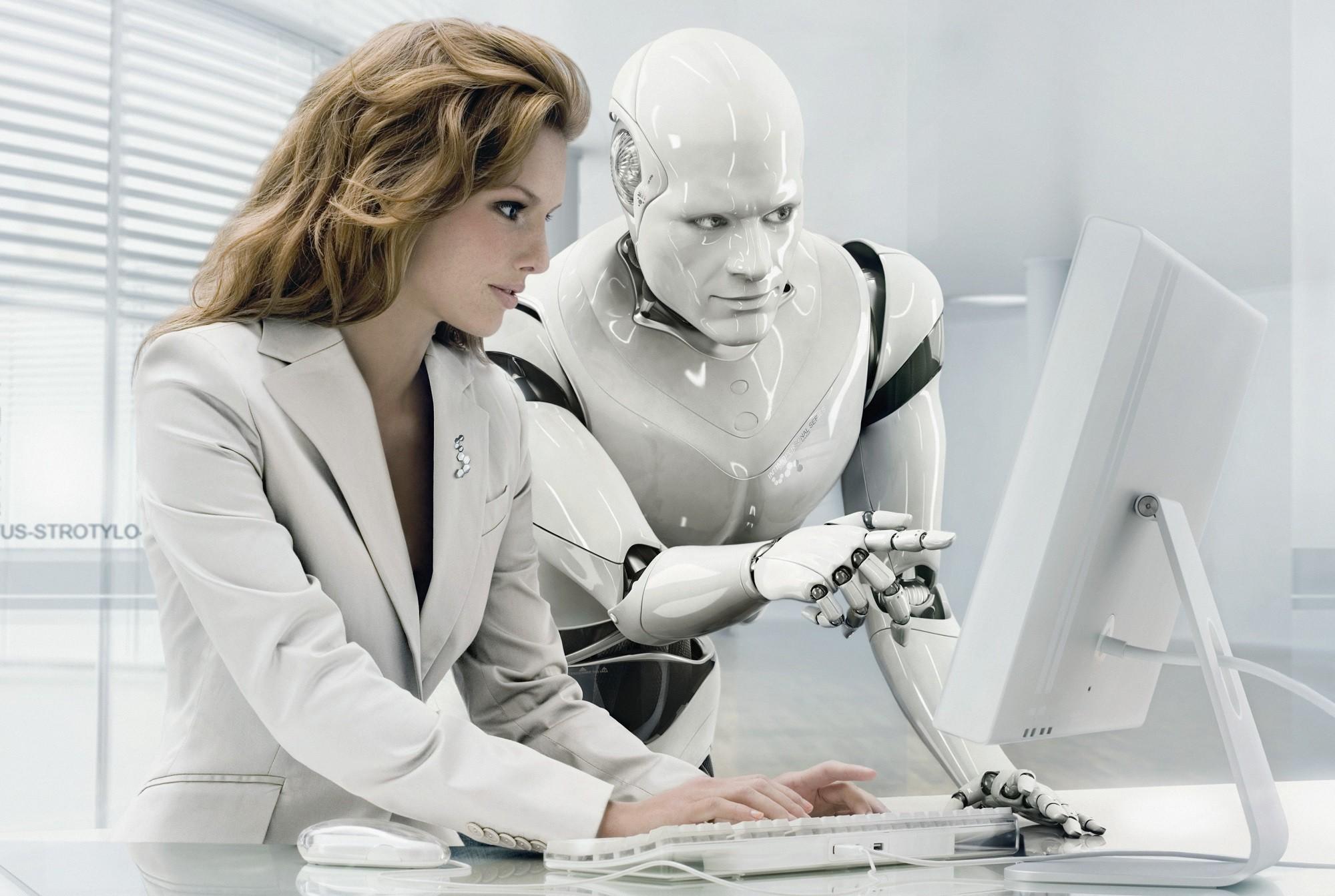 Смотреть секс с роботами 17 фотография