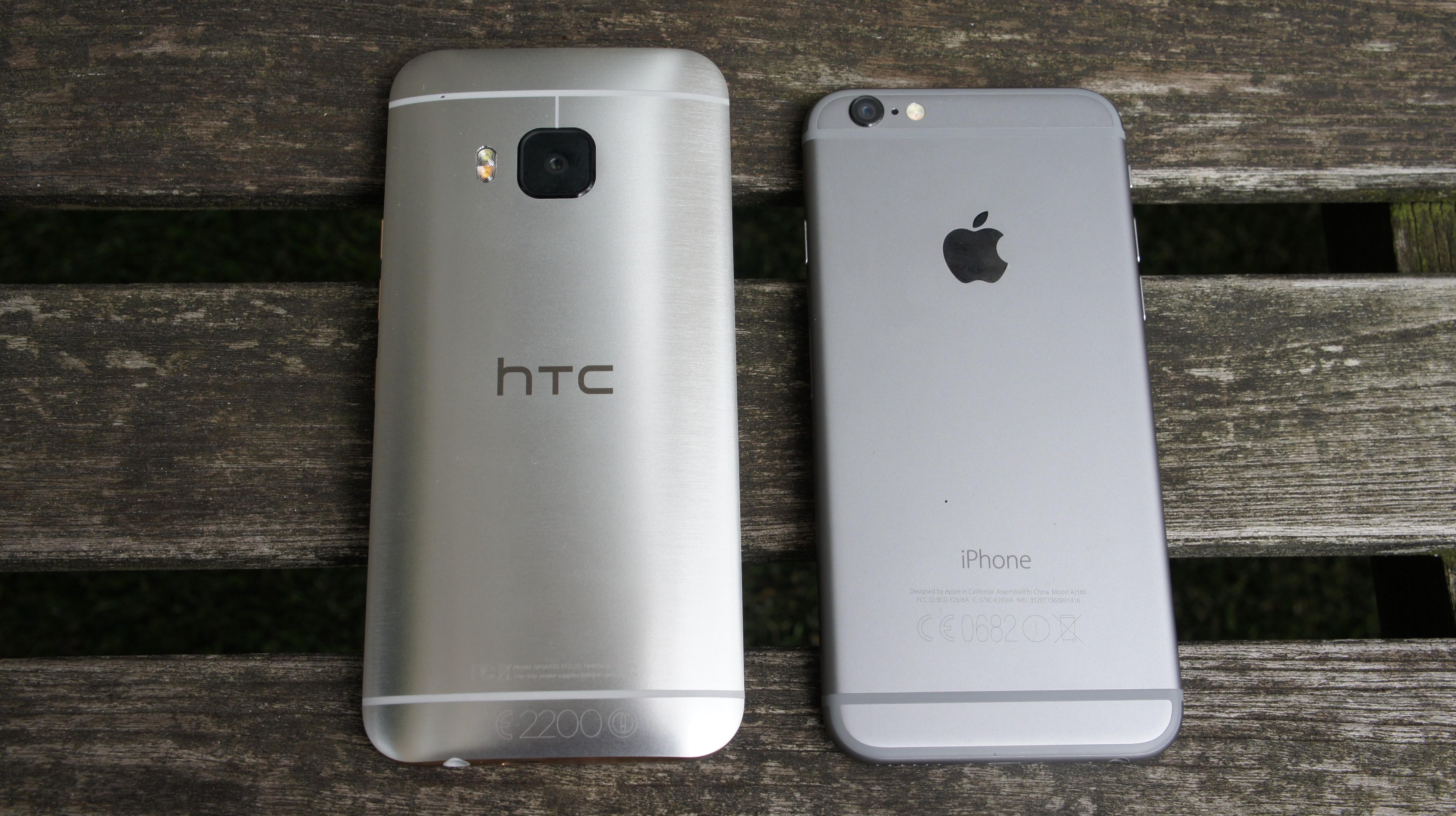 HTC отдаст новую модель One9 в обмен на iPhone 6