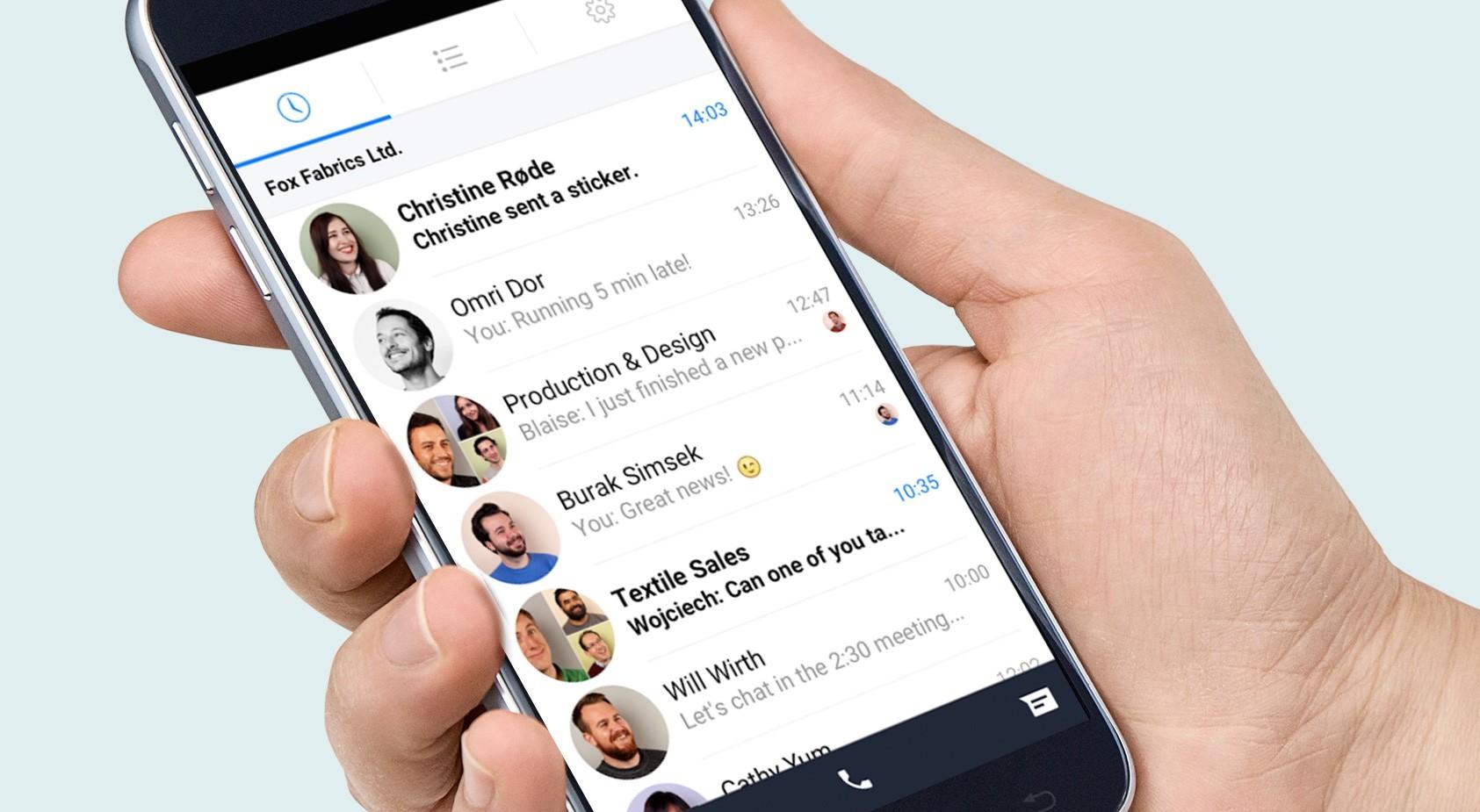 Facebook запустил в работу новый мессенджер Work Chat