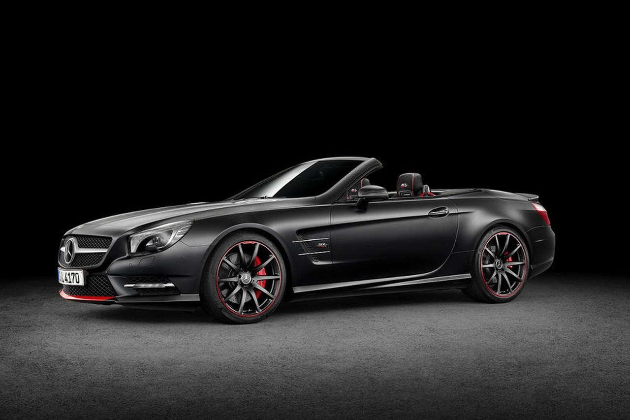 Новый родстер Mercedes Benz SL показался раньше премьеры
