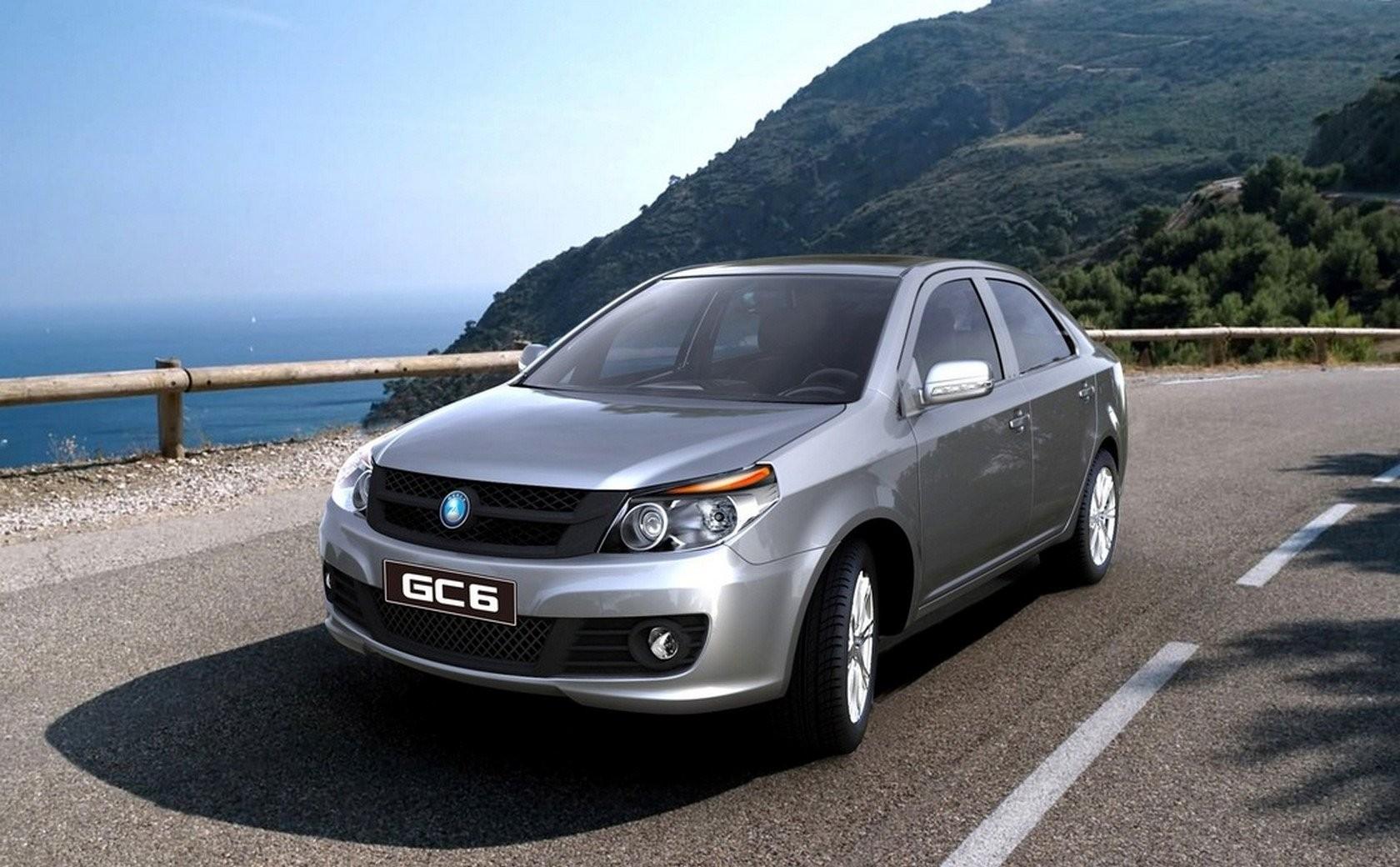 Geely готовится начать продажу обновленного седана GC6 в России
