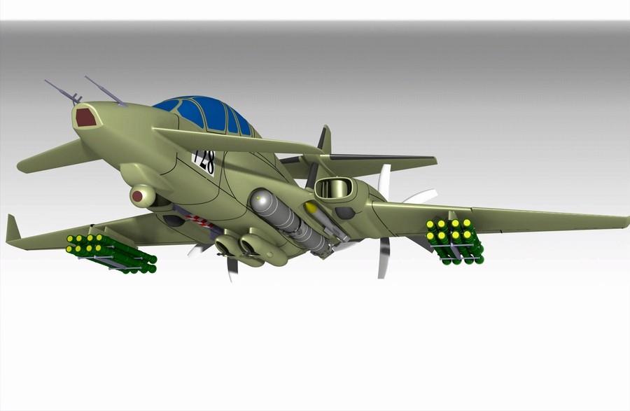 В России появится новый'самолет Судного дня