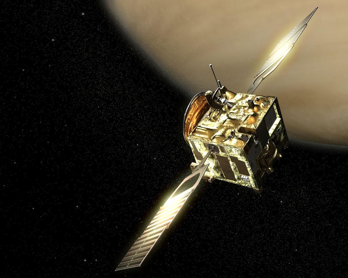 Японский зонд Акацуки сумел выйти на орбиту Венеры
