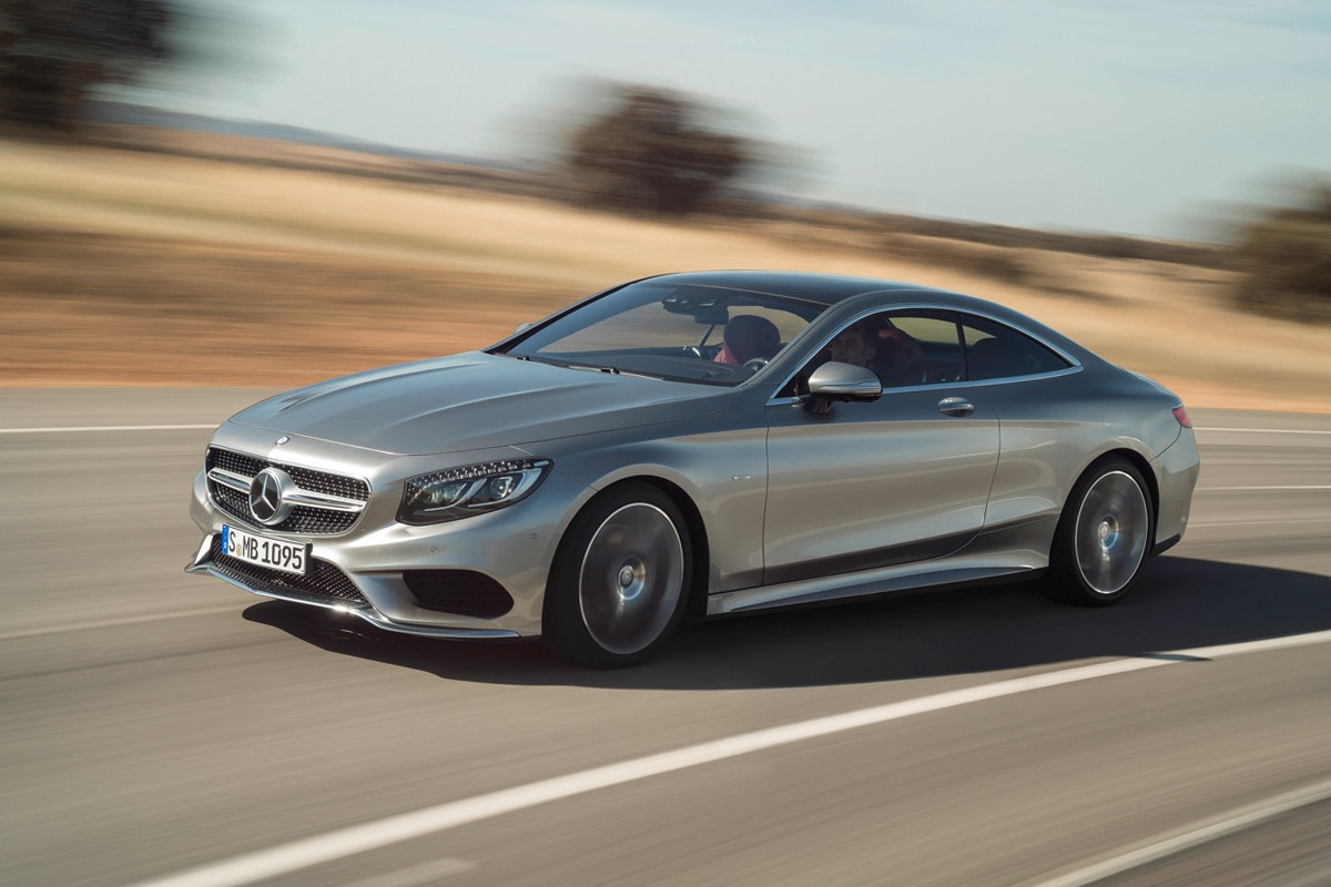Mercedes-Benz представил доступную версию купе S-Class