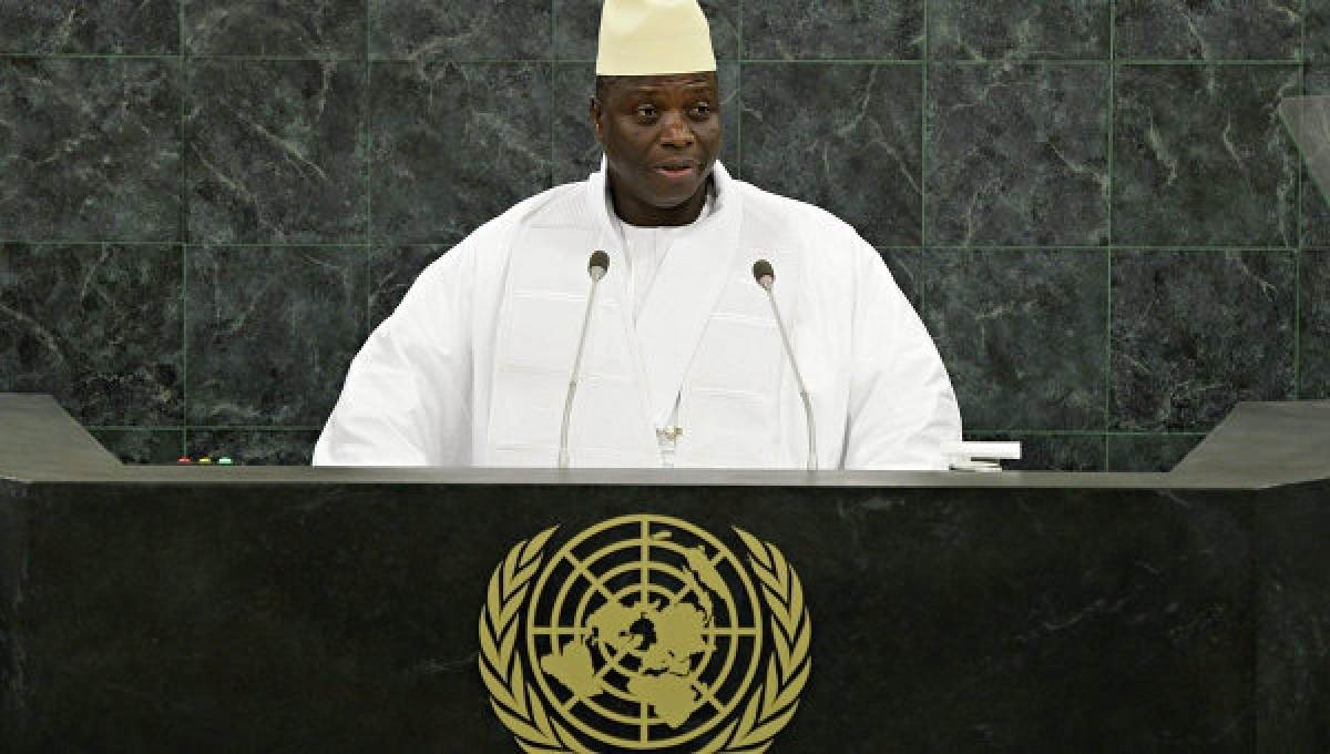 Президент Гамбии назвал страну исламской республикой