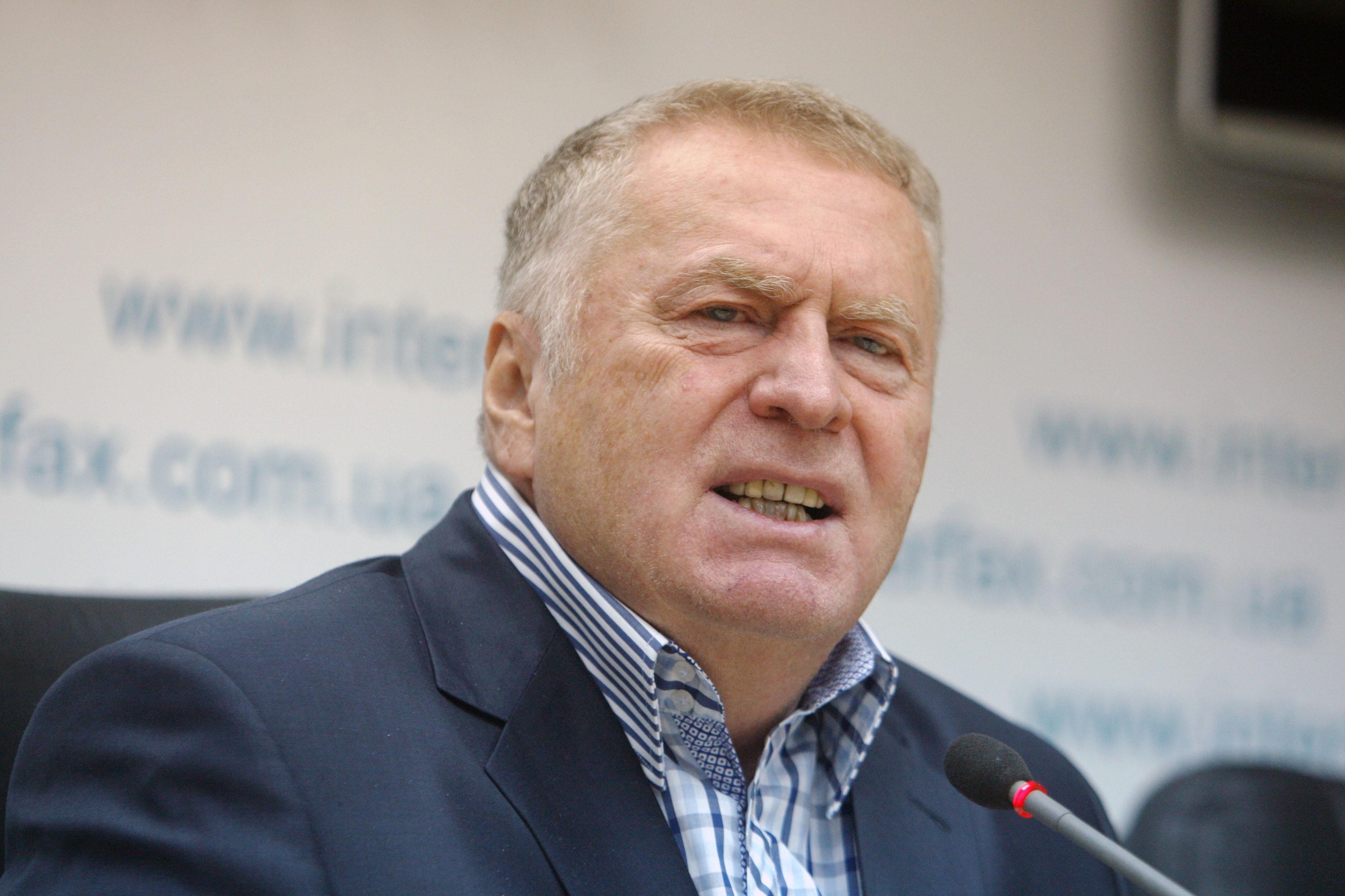 Жириновский требует уволить Канделаки заоскорбление 120 миллионов русских