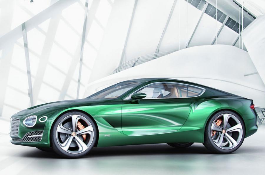 Bentley построят новый спорткар на основе платформы Porshe