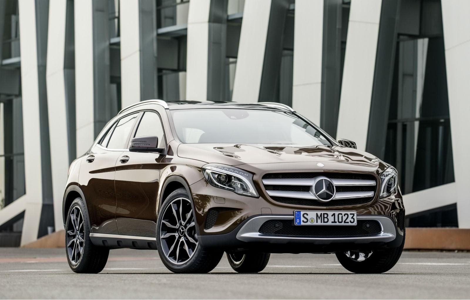 Mercedes-Benz предложит ряд обновлений SUV GLA для США